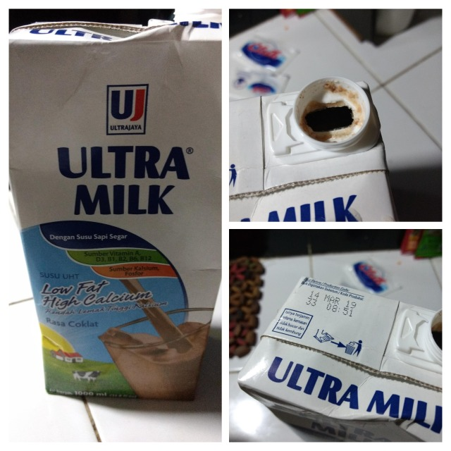 susu Ultra Milk Low Fat Hi Calcium kadaluwarsa